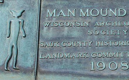Man Mound Plaque